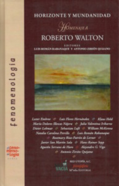 Nuevo título en la Serie Fenomenología