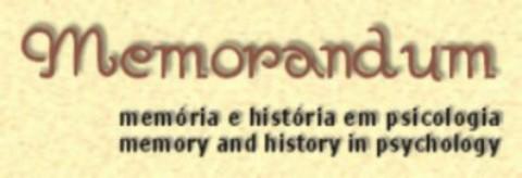 Memorandum: memória e história em psicologia