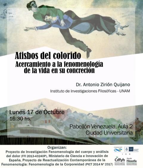 Conferencia de Antonio Zirión Quijano