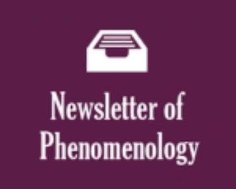Newsletter of Phenomenology – Issue Number 544